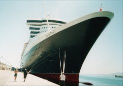 CUNARD (Ship shown Queen Mary 2)