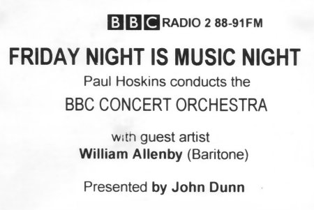 Friday Night is Music Night - BBC Radio 2